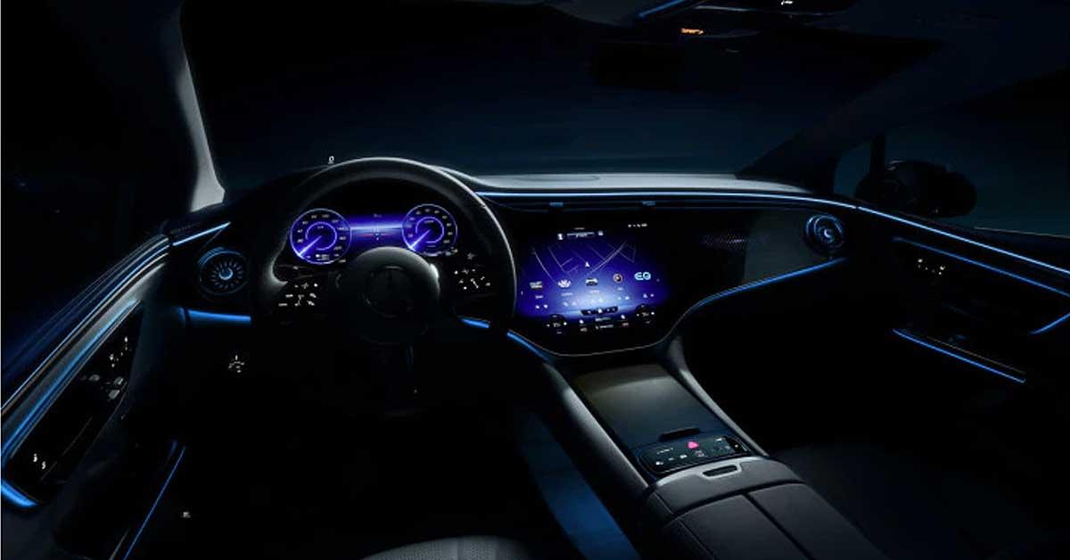 Mercedes EQE interiors