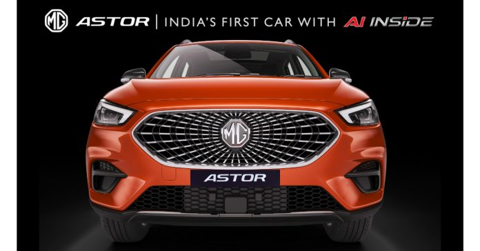 MG Astor to be India's first car to feature an AI assistant and Autonomous Level 2 technology