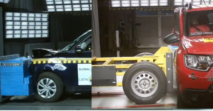 2021 Suzuki Swift, Renault Duster Score 0 Star Safety Rating At Latin NCAP