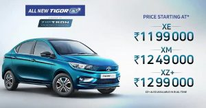 Tata Tigor EV price