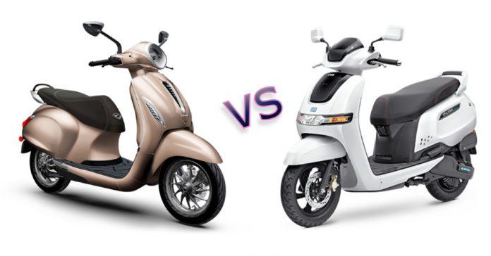 Bajaj Chetak Vs TVS iQube Electric Make the right buying decision
