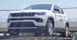 2022 Jeep compass mild-hybrid spotted in the USA (1)