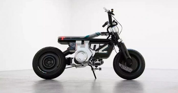 BMW showcased its Electric two-wheeler concept