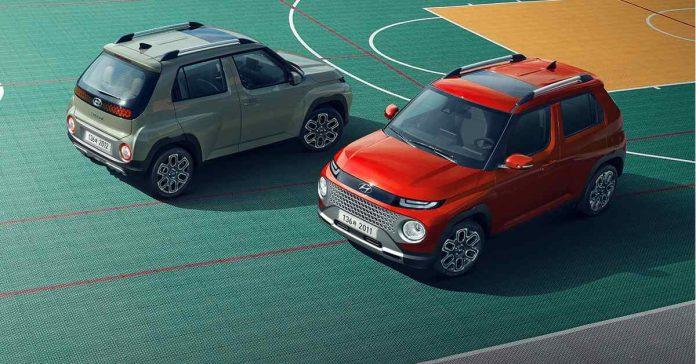 Hyundai Casper SUV global debuts online