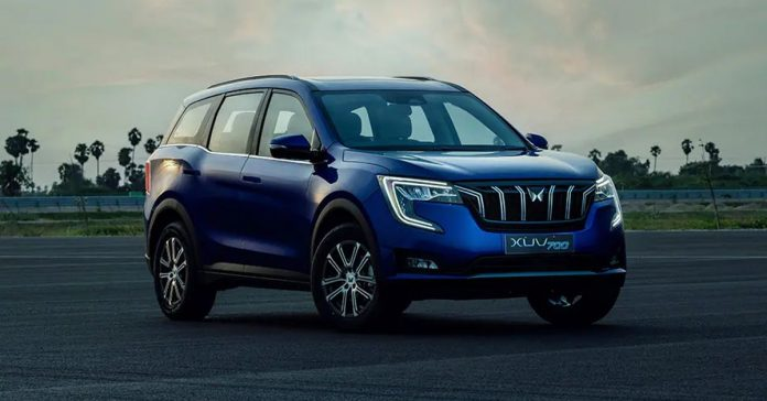 Mahindra XUV700 electric prototype in the works ?