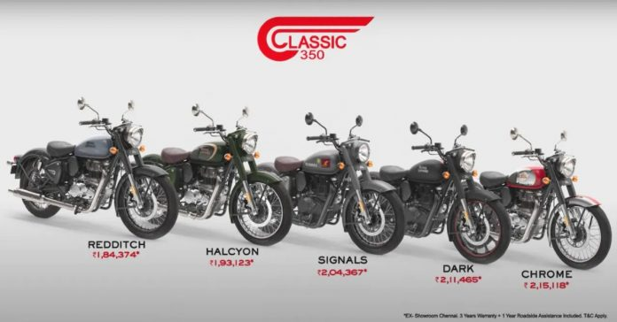 New Royal Enfield Classic 350 2021 Launched in India