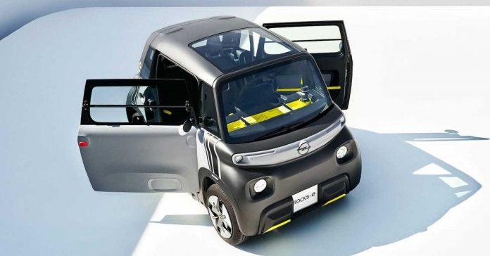 Opel Rocks-e Tiny EV launched