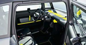 Opel Rocks-e interior