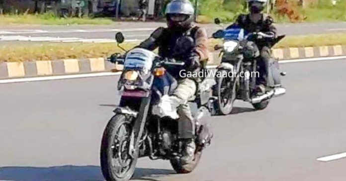 Royal Enfield 650cc cruiser spotted being tested with its upcoming 400cc sibling