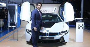 Sachin Tendulkar - BMW i8