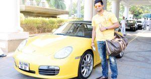 Suresh Raina – Porsche Boxster S