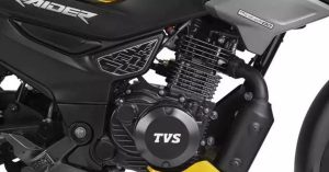 TVS Raider 125 engine
