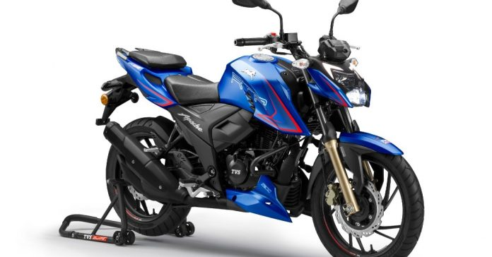 TVS finally launched its Apache RTR 200 4V in Nepal