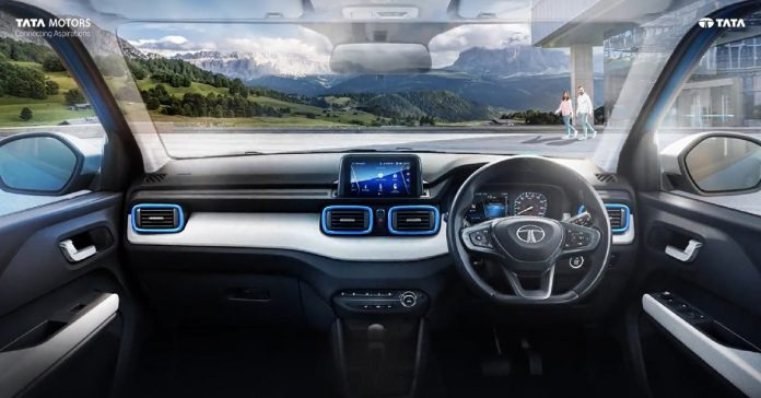Tata Punch interiors have been revealed before its launch