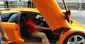 Yuvraj Singh – Lamborghini Murcielago