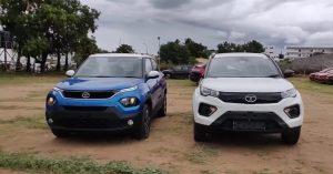 Tata Punch VS Tata Nexon