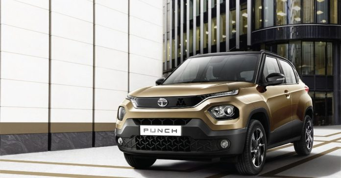 Tata unveiled its compact SUV Punch