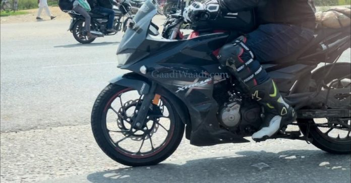 The New 4V version of Hero Xtreme 200S spotted